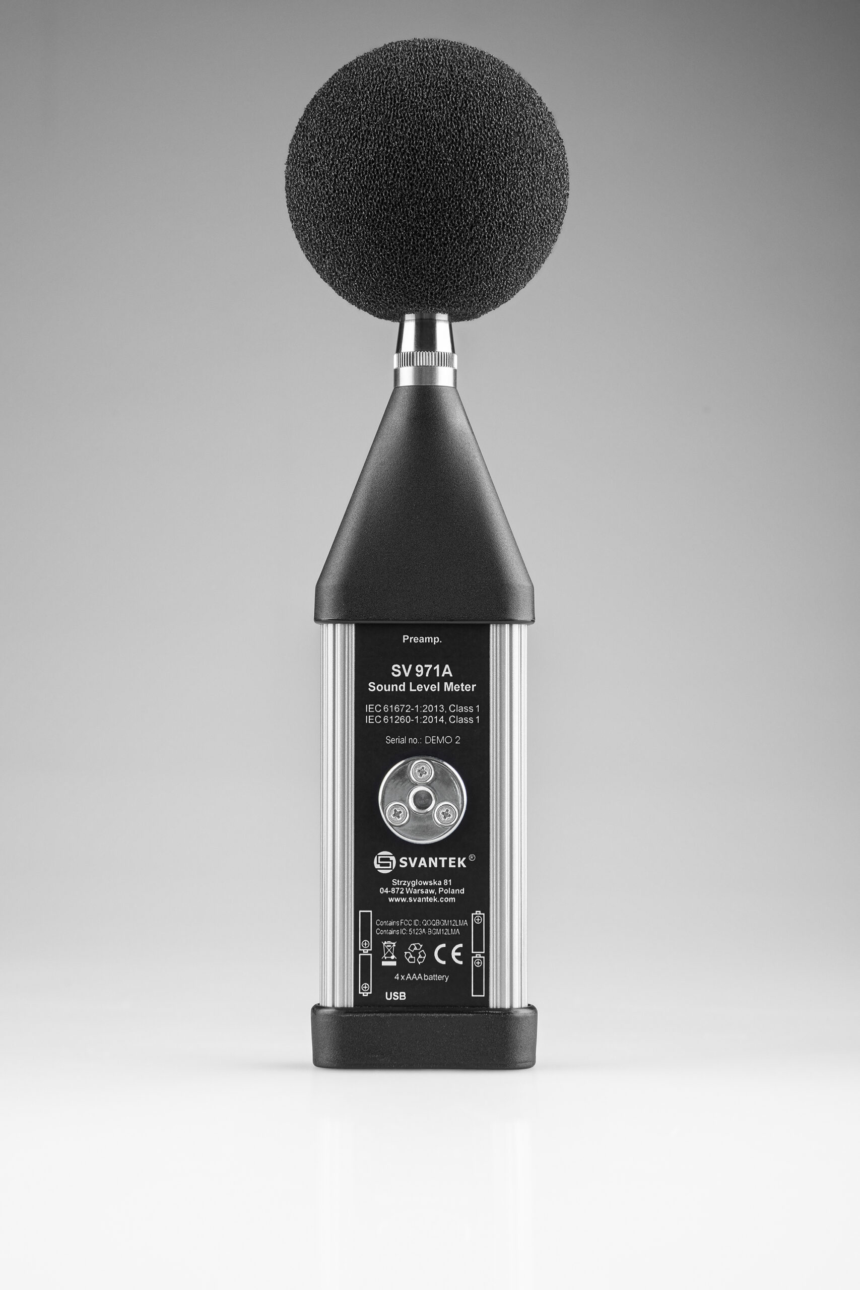 SV 971A Compact Sound Level Meter